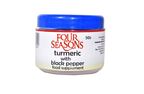 Turmeric with blackpepper food suppliment